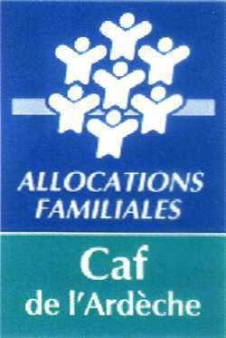 Logo CAF Ardeche